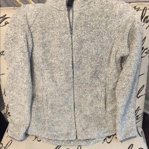 Light gray Sherpa jacket